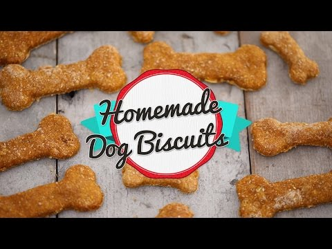 Pumpkin & Peanut Butter Homemade Dog Biscuits | The Inspired Home