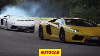 Lamborghini Aventador Challenge 3: The Drag Race