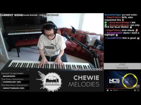 Alan Walker - Force Piano Playover