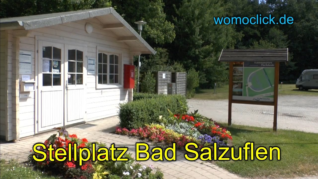 Wohnmobilstellplatz Bad Salzuflen Youtube