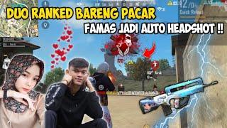 DUO BUCIN BARENG RARA !! PAKE FAMAS JADI AUTO HEADSHOT || FreeFire Indonesia