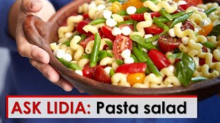Video Ask Lidia: Pasta Salad download MP3, 3GP, MP4, WEBM, AVI, FLV Januari 2018