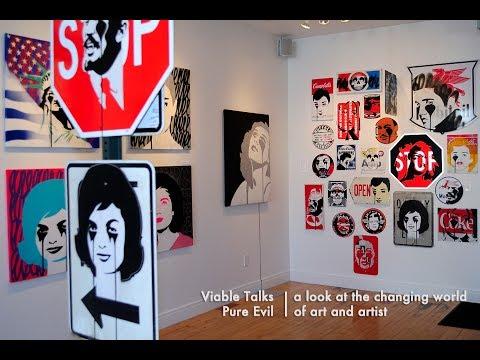 Viable Talks feat. street artist Pure Evil, June 2017