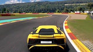 Gran Turismo Sport - Lamborghini Aventador LP-750 Superveloce 2015 - Test Drive Gameplay HD
