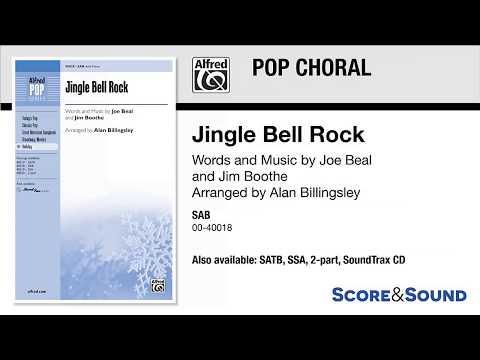 Jingle Bell Rock, arr. Alan Billingsley – Score & Sound