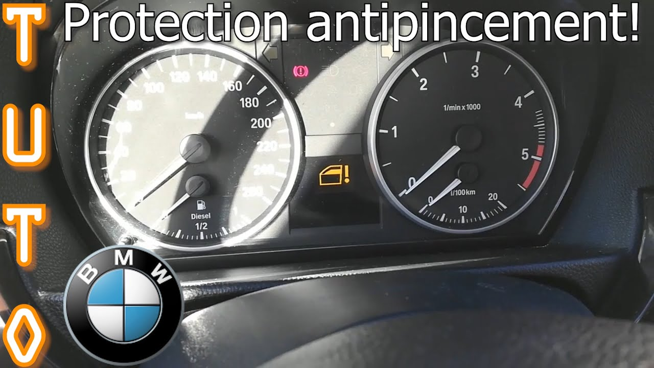 Tuto Reinitialiser Vitres Et Protection Anti Pincement Bmw E90