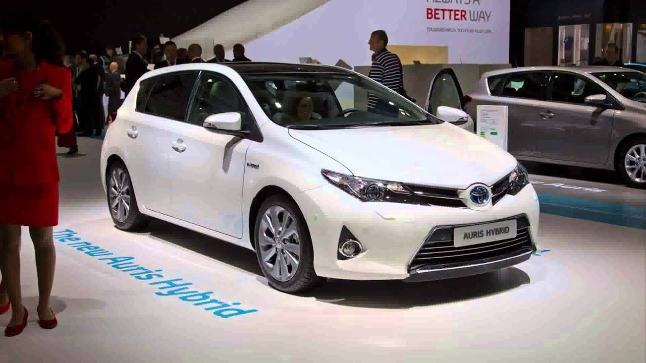 2015 model toyota auris toyota auris hybrid youtube. Black Bedroom Furniture Sets. Home Design Ideas