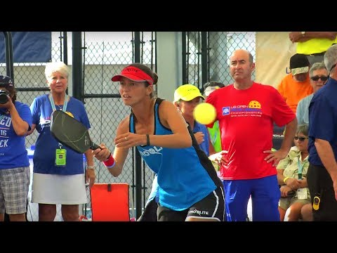 Pro Mixed Doubles Gold from the Minto US Open Pickleball Championships