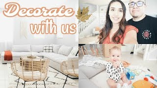 FALL HOUSE TOUR! Decorate With Us 2018 🍁