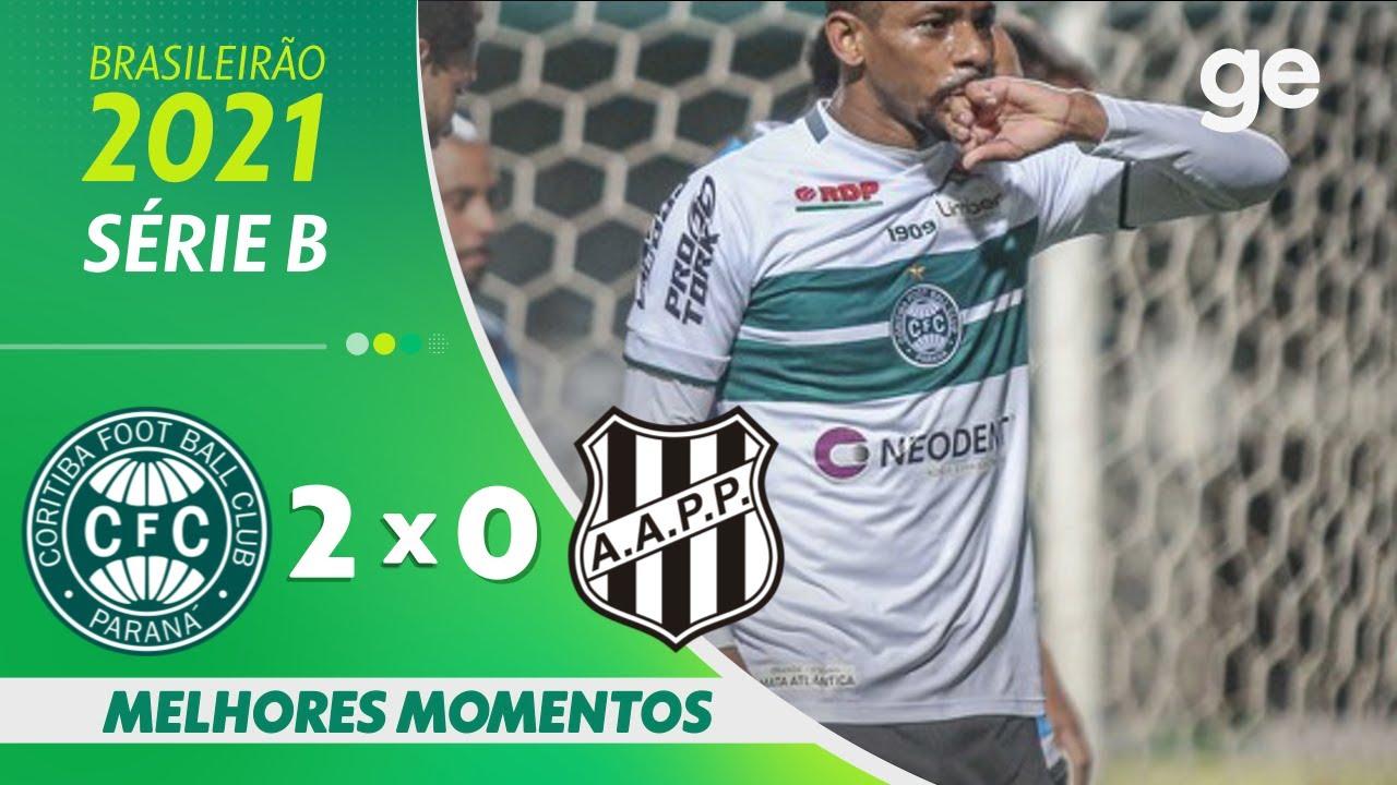 Download CORITIBA 2 x 0 PONTE PRETA| MELHORES MOMENTOS | 19ª RODADA BRASILEIRÃO SÉRIE B 2021 | ge.globo