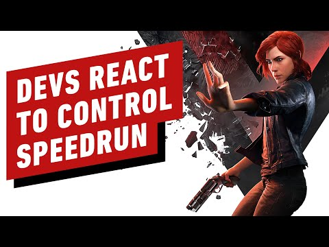 Control Developers React To 49 Minute Speedrun