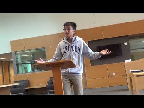 謝濟緯 2018 peter's speech in D.C. Georgetown preparatory school