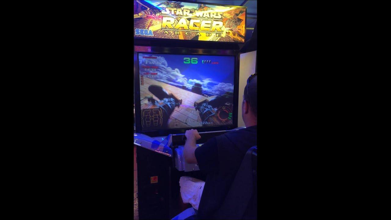 borne arcade star wars racer