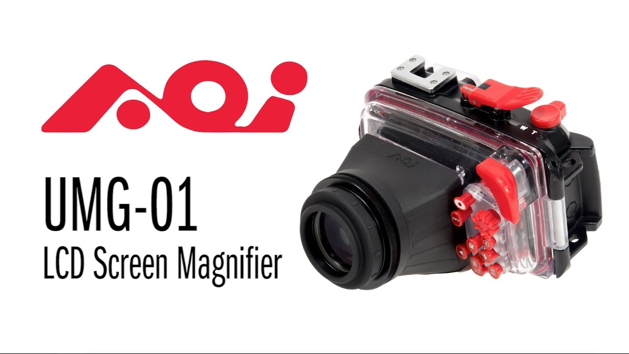 AOI UMG-01 Screen Magnifier for Olympus Underwater Camera Housing