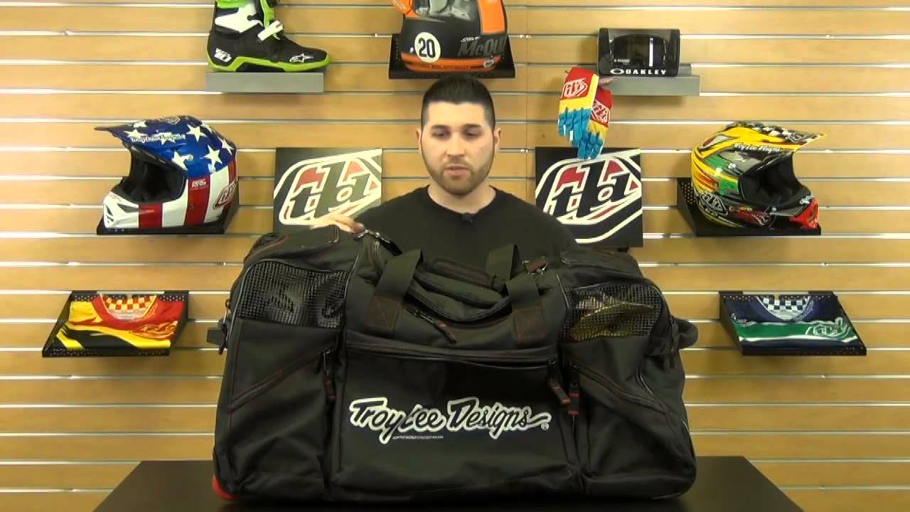 Troy Lee Designs Se Wheeled Gear Bag Review Chapmoto