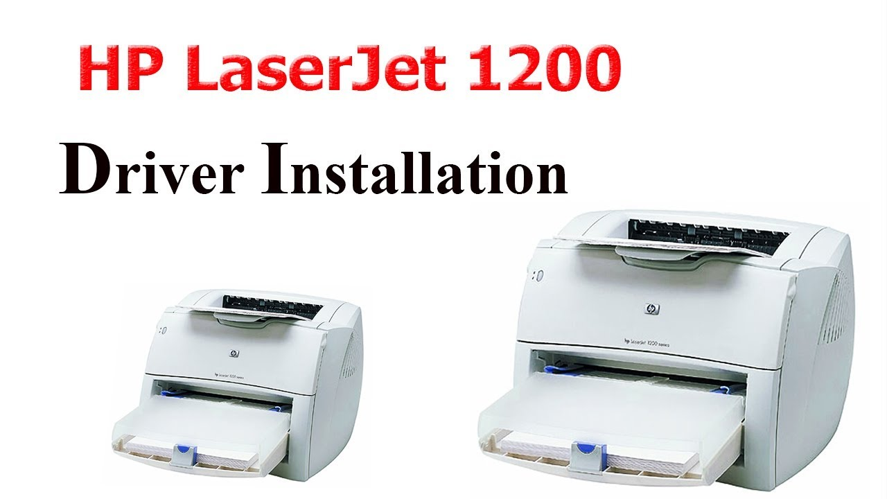 HOW TO Install HP laserjet 1200 printer drive…