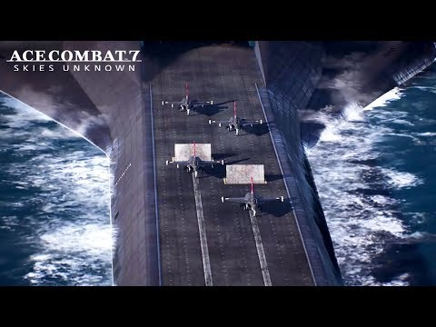 Ace Combat 7 trailer sees Unexpected Visitor DLC take flight