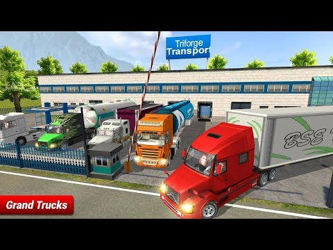 Offroad Truck Driving Simulator Free Android Gameplay - 동영상