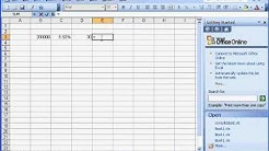 Excel Calculate Mortgage Monthly Payment