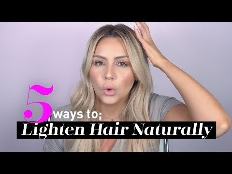 DIY: 5 Ways to Lighten Blonde Hair Naturally