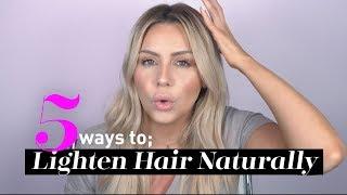 DIY: 5 Ways to Lighten Blonde Hair Naturally