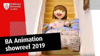 BA Animation showreel 2019