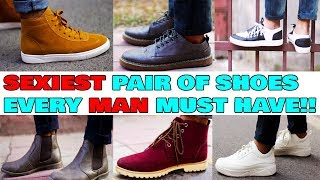 EVERY MAN must own these pair of SHOES! Shoes collection for indian men 2018