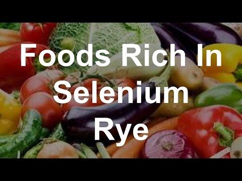 Foods Rich In Selenium - Rye