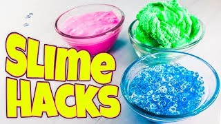 SLIME HACKS AND FIXES! HOW TO MAKE THE BEST SLIME!