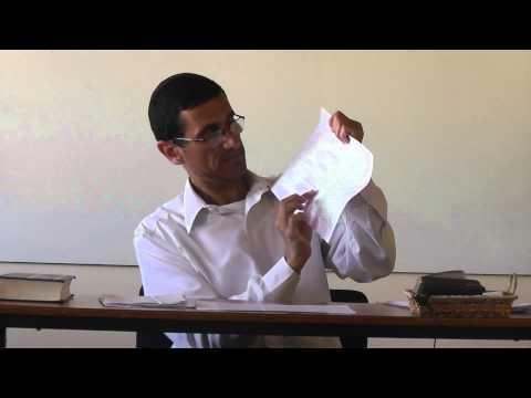La fe en la Torah Oral - Rabino Natan Menashe