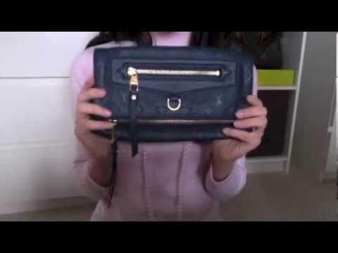 ce4595fd7917 Louis Vuitton Petillante Clutch in Orage Reveal - YouTube
