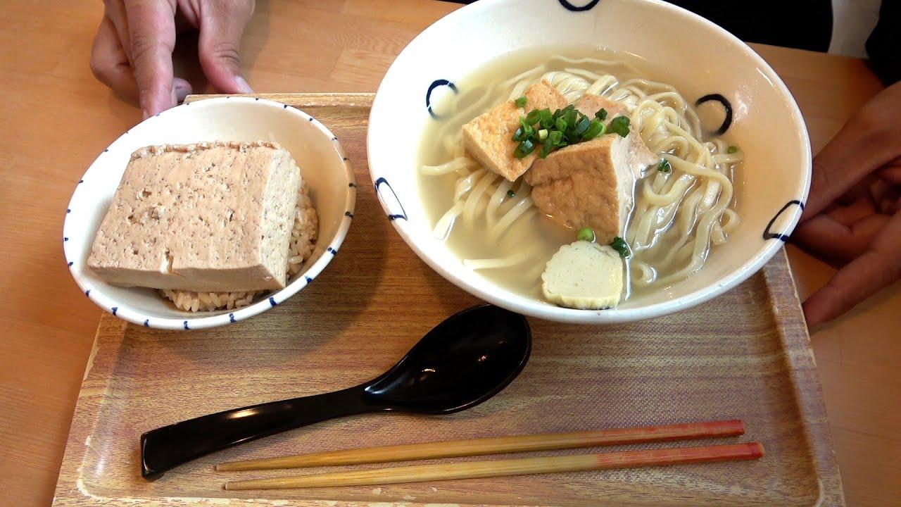 【島豆めし】進化系沖縄そば屋で食べる甘辛豆腐飯が美味すぎた【真打田仲そば 】
