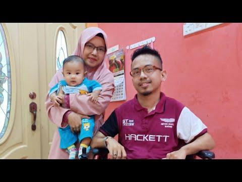 Cerebral Palsy Tidak Halang Lelaki Bina Keluarga Sendiri