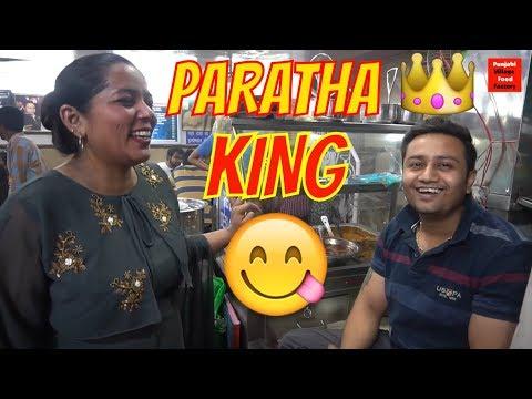"""PARATHA KING 👑 PARATHE WALI GALI 😋 YUMMY FOOD 😋 ALOO PARATHA 😋 RABRI FALUDA IN """"CHANDNI CHOWK"""""""