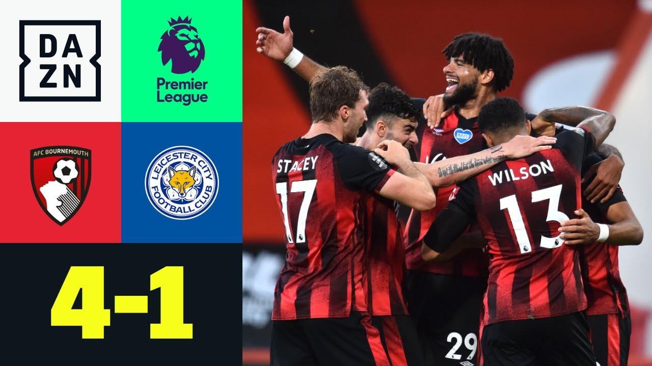 AFC Bournemouth vs Leicester City (4-1) | Resumen y goles | Highlights Premier League