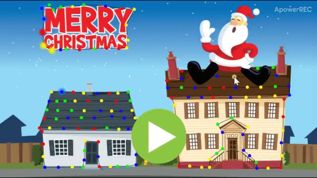 Abcya Christmas Lights Video And Games For Kids Youtube