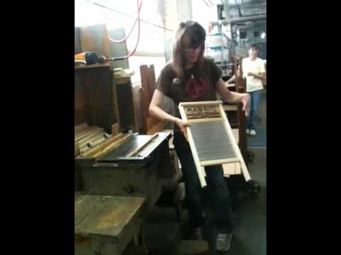 How to make a washboard