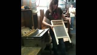 How to make a washboard