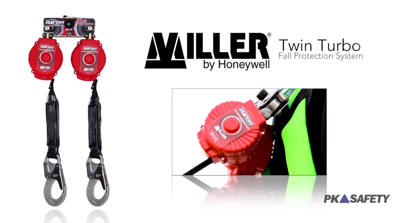 Miller Twin Turbo Personal Fall Protection System