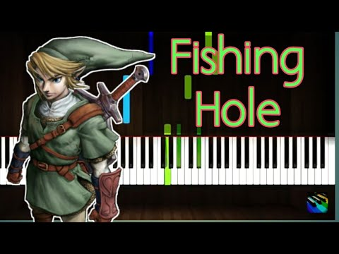 Fishing Hole - [The Legend Of Zelda] Twilight Princess- Synthesia