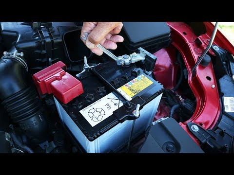 Mitsubishi Lancer – Battery Replacement