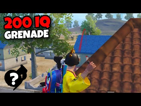 200 IQ GRENADE!!! | BEST MATCH WITH NEW TRICKS | PUBG MOBILE