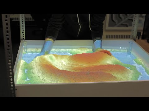 Augmented Reality Sandbox - Weekend Project