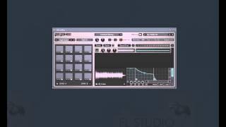 Drum Pads 24 на компьютере в программе FL Studio 11
