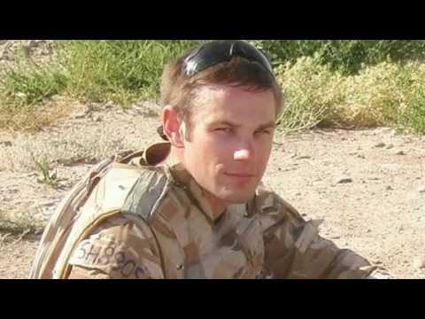 UK Soldier Speaking Before His Death By Afghan Freedom Fighters In Helmand Afghanistan