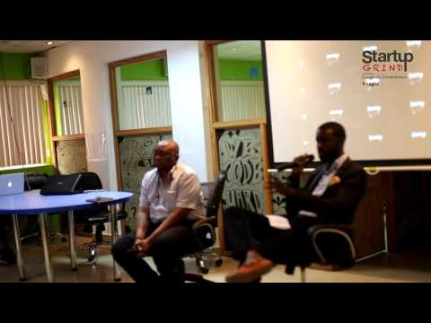 Harry Tomi Davies (African Business Angel Network) at Startup Grind Lagos