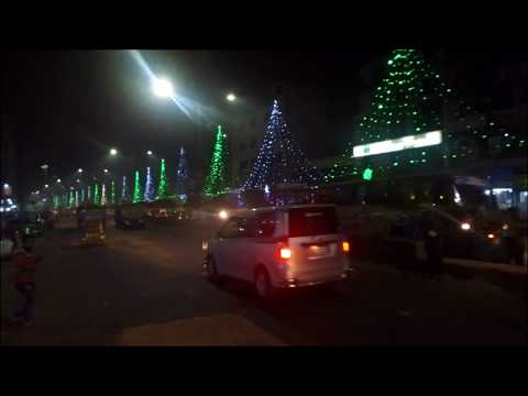Road to Agrabad - Commercial Capital City at Night