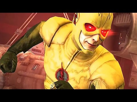 Injustice 2 Reverse Flash, Bane & Captain Cold Gameplay
