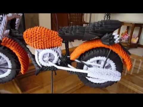 画像: This Was That Way I created the 3D Origami Motorcycle youtu.be