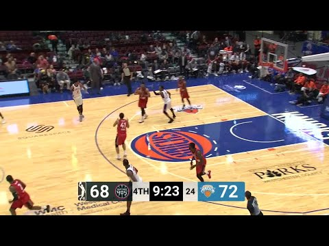 Kennedy Meeks with 4 Steals  vs. Westchester Knicks